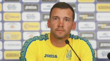 Открытая тренировка сборной Украины в Харькове